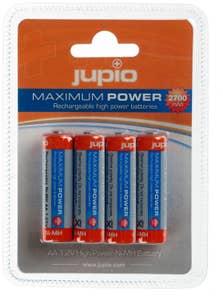 Jupio Rechargeable AA Batteries 2700mAh, 4 pack