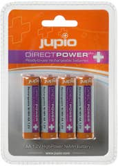 Jupio Rechargeable AA Batteries 2500 mAh DIRECT POWER PLUS