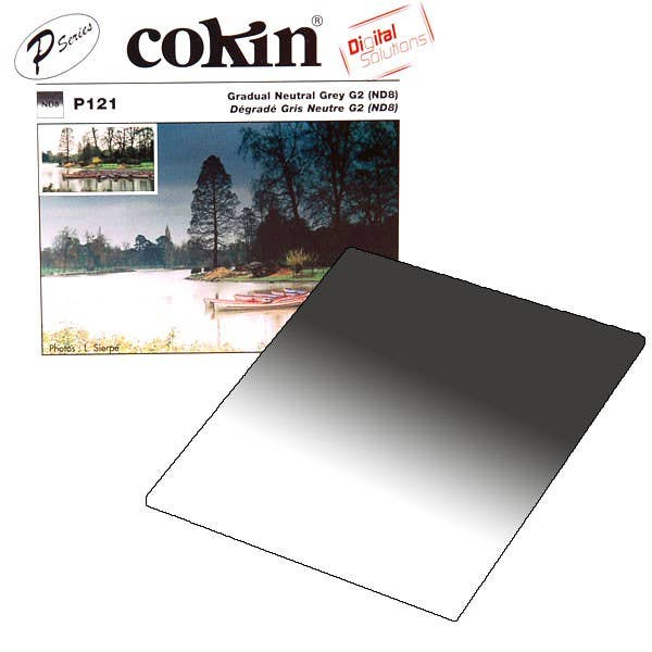 Cokin P121M - G2 ND8 - 3 Stop Graduated Filter  - P Series
