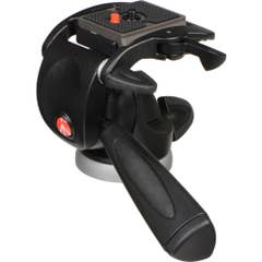 Manfrotto 391RC2 Junior 3-Way Pan and Tilt Head (Black)