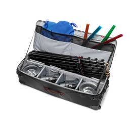 Manfrotto Pro-Light Rolling Lighting Gear Organizer V2 (Large, Black)