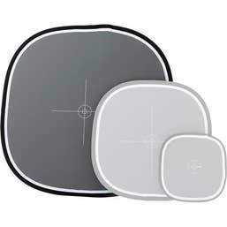 Lastolite EZYBalance Collapsible 18% Gray/White Balance Card 75cm