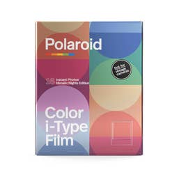 Polaroid Colour Film for i-Type - Limited Edition Metallic Nights Colour - 6035