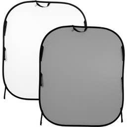 Lastolite BG Collapsible Rev 150x180cm White & Mid Grey