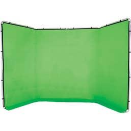 Lastolite Panoramic 4m Chroma Green Self Supporting Background
