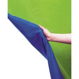 Lastolite Curtain 3x7m Blue and Green Chromakey Background