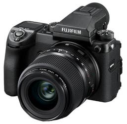 Fujifilm GFX 50S and GF 45mm F2.8 R LM WR Lens Kit