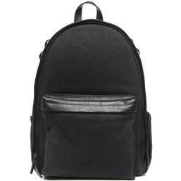 ONA Canvas Big Sur Backpack Black
