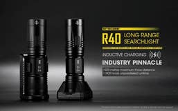 Nitecore R40 1000 Lumens Searchlight Torch with Charging Port