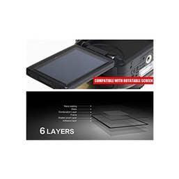 Larmor LCD Glass Screen Protector for Olympus EM-1 Mk II, EM-10 Mk II Cameras
