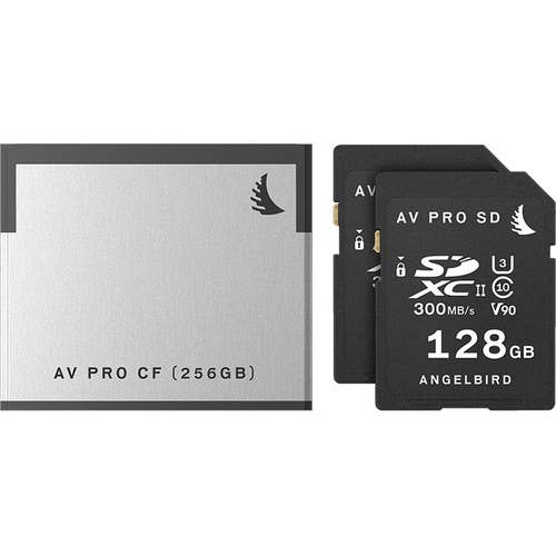 Angelbird Match Pack 1x 256CFast 2.0 & 2x128 SD for Canon C200