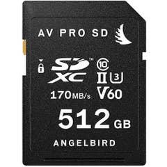 Angelbird AV PRO SD 512GB V60