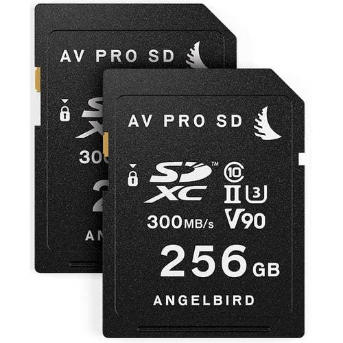 Angelbird Match Pack SD for Panasonic EVA1 256GB  - 2 Pack