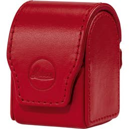 LEICA Flash Case D-LUX, Red