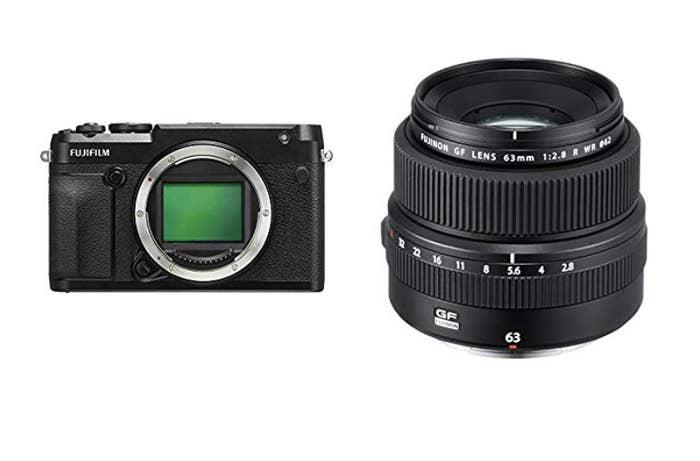 FujiFilm GFX 50R w/ GF 63mm f/2.8 R LM WR Lens Kit