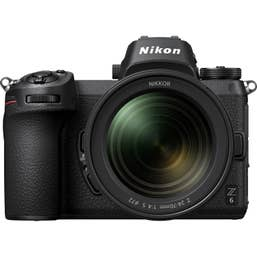 Nikon Z6 body with NIKKOR Z 24-70mm f/4 S lens and FTZ Adaptor