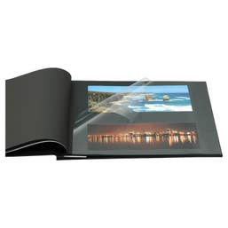 NCL Self Adhesive Jumbo Photo Album - Black - UR1