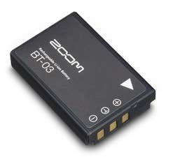 ZOOM BT-03 RECHARGEABLE BATTERY for Q8