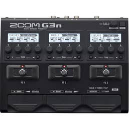 ZOOM G3n GUITAR EFFECTS & AMP SIMULATOR