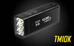Nitecore TM10K 10,000 Lumens LED Li-Ion Torch