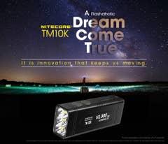 Nitecore TM10K 10,000 Lumens LED Li-Ion Torch