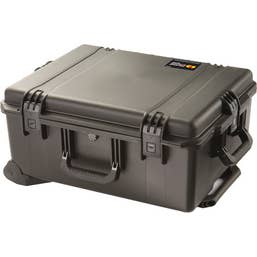 Pelican Storm Black Case with Wheels and Handle