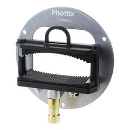 Phottix Cerberus Mount for Trasfolders - Griffin Mount for Speedlights & Stand Mount