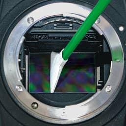 VisibleDust MXD-100 Green 1.0x Vswabs, Corner Swabs, and CurVswab