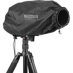 "Ruggard Fabric Rain Cover 17"" Medium for Lens up to 17"" Long Black"