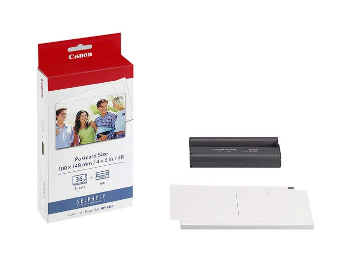 Canon KP36IP Ink and Label Kit