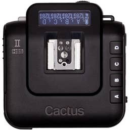 Cactus Wireless Flash V6 II Transceiver