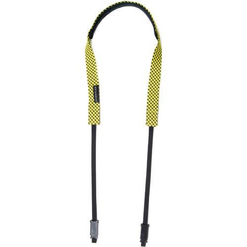 Crumpler Check Strap Cameo Grey / Yellow