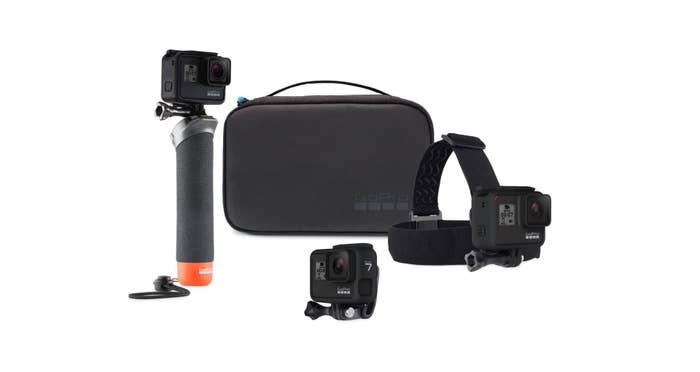 GoPro HERO 7 Black with Bonus Adventure Kit