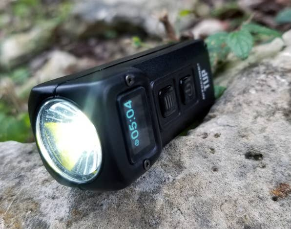 NITECORE TUP GREY 1000 LUMENS Rechargeable Key Ring Torch