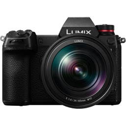 Panasonic LUMIX S1 Body with LUMIX S 24-105mm F4 MACRO O.I.S.