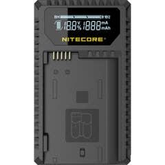 Nitecore UNK1 Nikon USB Dual Slot Charger for EN-EL14, EN-EL14A, EN-EL15