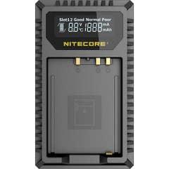 Nitecore FX1 Fujifilm USB Dual Slot Charger for Fuji NP-W126S FUJI NP-W126NP