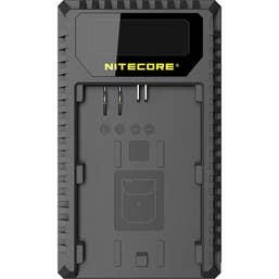 Nitecore UCN1 Canon USB Dual Slot Charger for LP-E6, LP-E6N, LP-E8