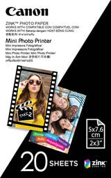 Canon MPPP20 Mini Photo Printer Paper (20 sheets)