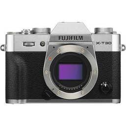 Fujifilm X-T30 Silver  plus XF 16mm f/2.8 R WR