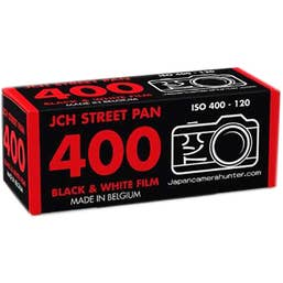 Japan Camera Hunter StreetPan 400 Black and White Negative Film (120 Roll Film)