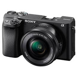 Sony Alpha A6400 Body with 16-50mm Black Kit