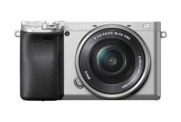 Sony Alpha A6400 Body with 16-50mm Silver Kit