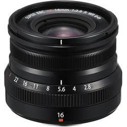 Fujifilm - XF 16mm f/2.8 R WR  Black
