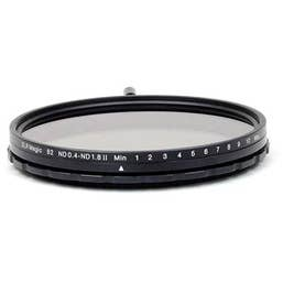 SLR Magic 82mm Variable ND II + 86mm IEND 4 stop