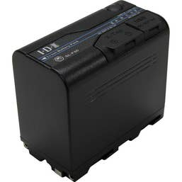 IDX ID-SL-F50 55Wh 7.2V/7350mAh Lithium ion Battery for Sony NP-F type