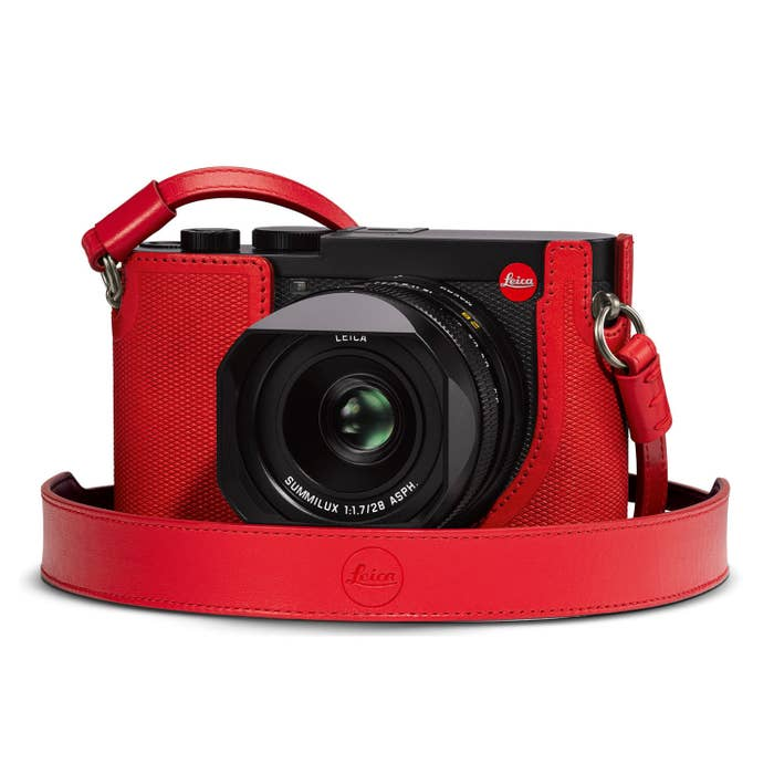 Leica Carrying Strap Q2 Red