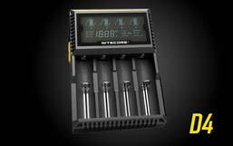 Nitecore Digicharger D4 Quad Battery Charger