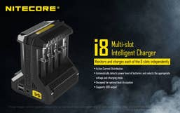 Nitecore Intellicharger i8 Smart Charger