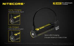 Nitecore 3500mAh Micro USB Rechargeable 18650 Battery